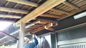 環境対応型特殊洗浄G-Eco工法の施工